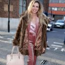 Nadine Coyle – Arriving at the AOL Building in London - 454 x 682