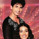 Shahid Kapoor and Amrita Rao