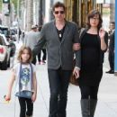 Milla Jovovich Shopping In Beverly Hills