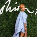 Lily Allen British Fashion Awards In London