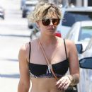 Kaley Cuoco Leaving A Yoga Class In La