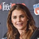 Keri Russell The Americans Panel 2014 New York Comic Con Day 2 In Nyc