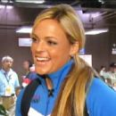 Jennie Finch still from interview on Access Hollywood.