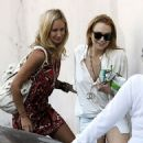 Lindsay Lohan and Lady Victoria Hervey