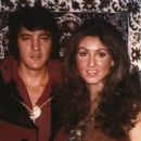 Elvis Presley and Linda Thompson - 371 x 360