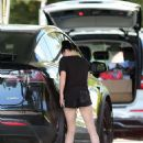 Ariel Winter – Seen at her car in LA