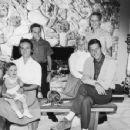Dick Van Dyke and Margie Willett with Children: Stacy Van Dyke, Barry Van Dyke, Christian Van Dyke, Carrie Beth van Dyke