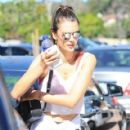 Alessandra Ambrosio Gets Her Workout in - 419 x 600