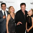 "Actor Eli Roth, actress Diane Kruger, writer/director Quentin Tarantino and actress Melanie Laurent attend the Cinema Society and Hugo Boss screening of ""Inglourious Basterds"" at the SVA Theater on August 17, 2009 in New York City."