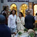 Emma Watson – Out with a friend in Italy