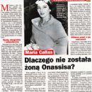 Maria Callas - Zycie na goraco Magazine Pictorial [Poland] (3 March 2016) - 454 x 642