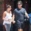 Lea Michele – Grab lunch at Cafe Gratitude in Venice Beach