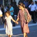 Halle Berry takes her daughter Nahla Aubry to the Grove in Los Angeles, California on June 17, 2016 - 454 x 533