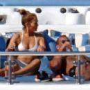 Jennifer Lopez in Bikini in Capri
