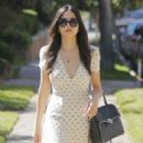 Jessica Gomes in mini dress out in Beverly Hills - 454 x 590