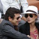 Patrick Fiori and Ariane Fiori