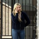 Chloe Moretz – Talks on the phone while out in LA