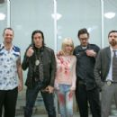 Jeff Hilliard, Jeordie White, Pandie Suicide, Rob Patterson, London May behind the scenes of Massacre