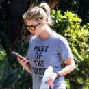 Ashley Benson heads to the gym in West Hollywood on March 28, 2016 - 405 x 600