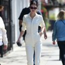 Kendall Jenner – Outside a local dry cleaner in Los Angeles