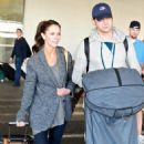 Jennifer Love Hewitt - Arriving At LAX Airport, November 2009