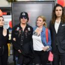 Musician Gene Simmons arrives for the world premiere of