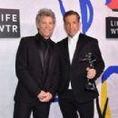 Jon Bon Jovi during the 2017 CFDA Fashion Awards at Hammerstein Ballroom on June 5, 2017 in New York City - 454 x 303