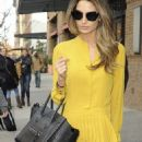 Lily Aldridge: showed up at a lunch date in New York City