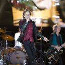The Rolling Stones during Le Festival d'été de Québec on July 15, 2015