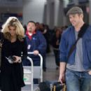 Kellan Lutz at LAX with AnnaLynne Mccord March 5, 2010