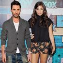 Adam Levine and Amanda Setton