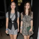 Emmy Rossum - Goes To See A Concert At The Troubador In West Hollywood - August 31, 2010