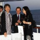 Mick Jagger and L'Wren Scott attend Finch's Quarterly Cannes Dinner 2010 at the Hotel du Cap as part of the 63rd Cannes Film Festival on May 17, 2010 in Antibes, France - 454 x 304