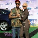 Amber Rose and Wiz Khalifa Attend The 2011 Bet Awards held at The Shrine Auditorium in Los Angeles, California - June 26, 2011 - 450 x 661