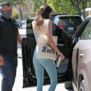 Kendall Jenner – Out for a workout in West Hollywood
