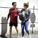 Gemma Atkinson and Gorka – Leave a gym in Manchester - 454 x 513