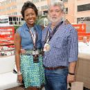 George Lucas and Mellody Hobson - 372 x 594