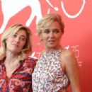 Valeria Bruni Tedeschi & Valeria Golino at the Photocall of Les Estivants - Venice 2018