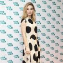 Lily James – Into Film Award 2019 at Odeon Luxe Leicester Square in London 04/03/2019 - 364 x 600