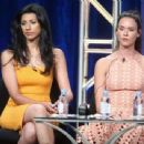 Actress Odette Annable speaks onstage at the 'Pure Genius' panel discussion during the CBS portion of the 2016 Television Critics Association Summer Tour at The Beverly Hilton Hotel on August 10, 2016 in Beverly Hills, California