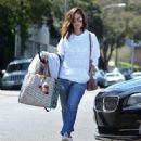 Minka Kelly – Out shopping in Beverly Hills - 454 x 570