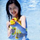 Kusumi Yellow bikini - 375 x 500
