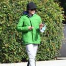 Ellen Page is seen leaving the gym after a workout in Los Angeles, California on January 13, 2015 - 454 x 574