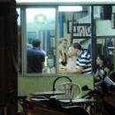 eating Pizza with Eyal Golan (an Israeli singer)