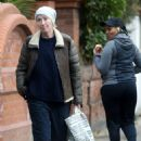 Emma Thompson – Looking casual in North London