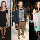 Nina Dobrev, Kellan Lutz, Nikki Reed, And More Celebrities At Fashion Week