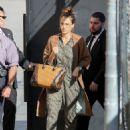 Jessica Alba Appears on 'Kimmel' - 454 x 600