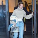 Bella Hadid in Jeans – Out in NYC