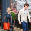 Sienna Miller In Jeans Out and About In Soho
