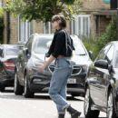 Daisy Lowe in Jeans – Out in London - 454 x 537